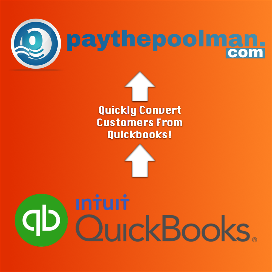 Pool Software, Pool Billing, Pool Invoicing, convert from quickbooks